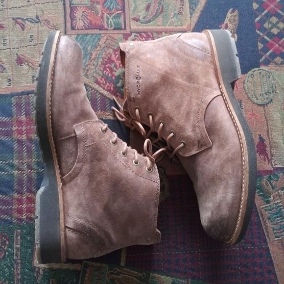 ECCO Men's Suede Boots